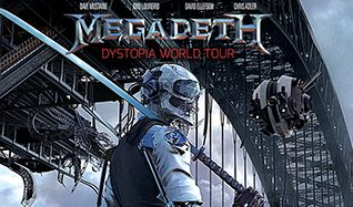 Megadeth tickets at The Warfield in San Francisco