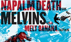 Napalm Death / The Melvins tickets at The Showbox in Seattle