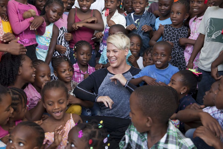P!nk makes an inspiring move to end child malnutrition as UNICEF Ambassador