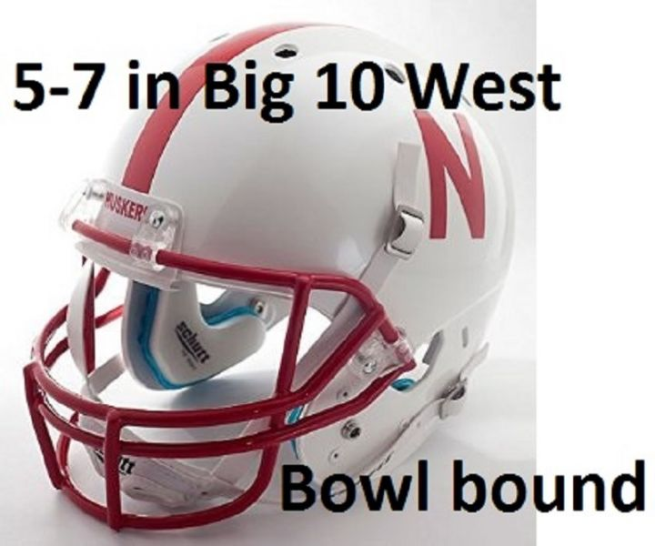Nebraska with a losing record is going bowling