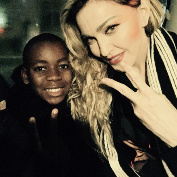 Watch Madonna and Her Son Sing Like a Prayer to Honor Victims of the Paris Terror Attack