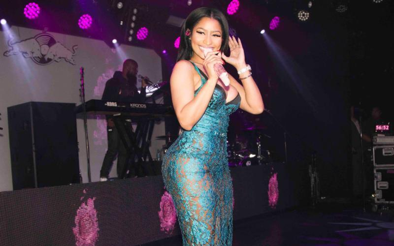 Nicki Minaj was the secret guest at the closing night of 30 Days in LA.