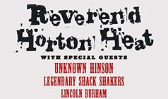 Reverend Horton Heat tickets at The Showbox in Seattle