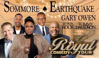 Royal Comedy Tour: Sommore, Earthquake, Gary Owen, Tony Rock, Tommy Davidson tickets at Verizon Theatre at Grand Prairie in Grand Prairie