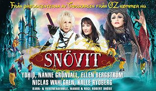 Snövit - The Musical tickets at Annexet, Stockholm