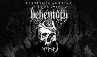 Behemoth tickets at The Regency Ballroom in San Francisco