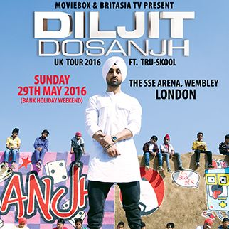 Diljit Dosanjh tickets at The SSE Arena, Wembley in London