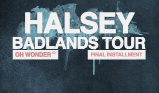 Halsey tickets at Arvest Bank Theatre at The Midland in Kansas City