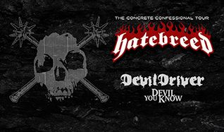 Hatebreed tickets at The Regency Ballroom in San Francisco