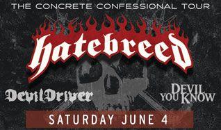 Hatebreed tickets at Starland Ballroom in Sayreville