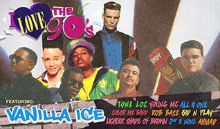 I Love The 90's Featuring Vanilla Ice,Tone Loc, Young MC, All-4-One, Color Me Badd, Rob Base, Kid N Play, A Lighter Shade of Brown, 2nd II None, Ahmad tickets at Microsoft Theater (formerly Nokia Theatre L.A. LIVE) in Los Angeles