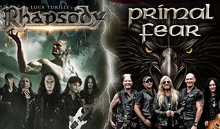 Luca Turilli's Rhapsody & Primal Fear tickets at City National Grove of Anaheim in Anaheim