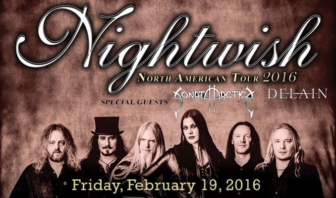 Nightwish tickets at Starland Ballroom in Sayreville