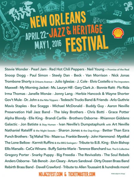 Jazz Fest's hip-hop lineup is not huge, but offers some special talent.