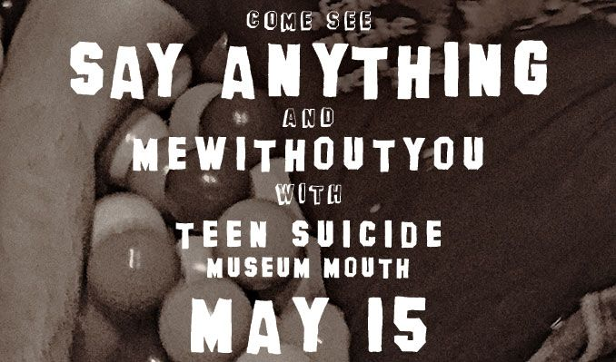 Say Anything tickets at Starland Ballroom in Sayreville