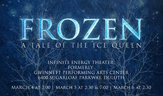 Southern Ballet Theatre presents Frozen: A Tale of the Ice Queen tickets at Infinite Energy Theater in Duluth