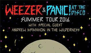 Weezer and Panic! At the Disco tickets at Fiddler's Green Amphitheatre in Greenwood Village