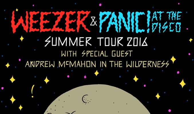 Weezer and Panic! At the Disco tickets at King County's Marymoor Park in Redmond