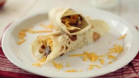 Experience Charlotte breakfast burritos