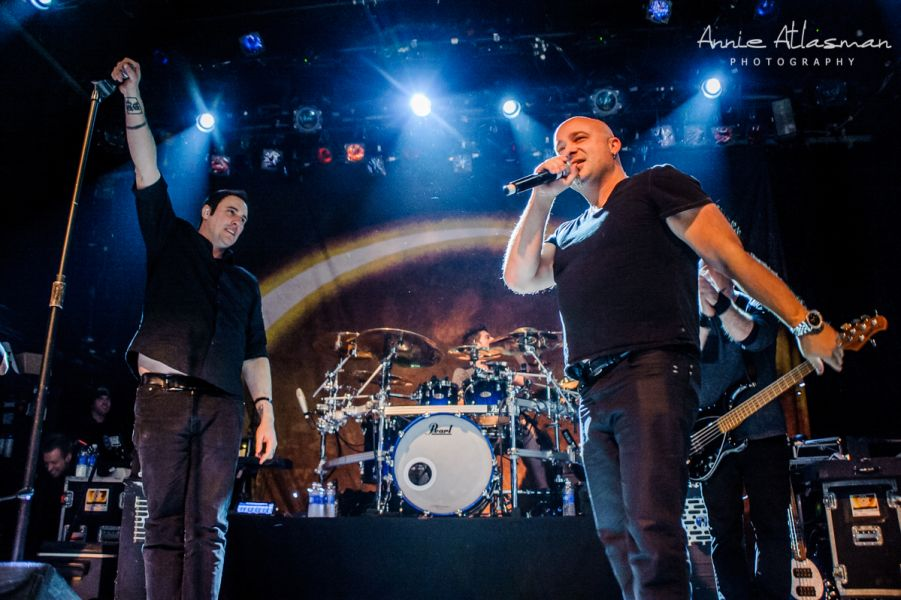 Disturbed's David Draiman surprise visit at Breaking Benjamin in NYC