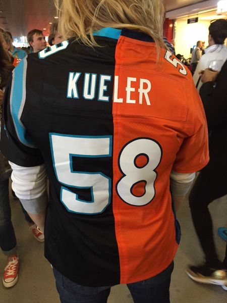 Super Bowl 50 Photos: The craziest Panthers and Broncos fans from the big game