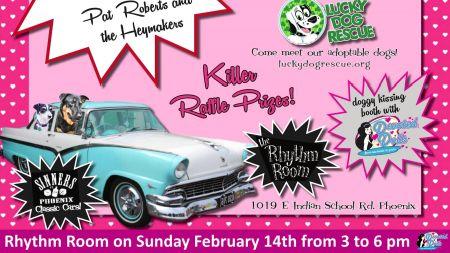 Valentine's Day in Phoenix, AZ: Blues, rockabilly, RenFest and 'Galentine's Day'