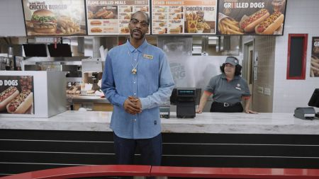 Watch: Snoop Dogg hilariously rep Burger King's newest menu item, Grilled Dogs