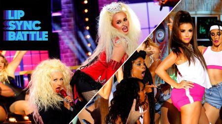 Hayden Panettiere unleashes Christina Aguilera for 'Lip Sync Battle'