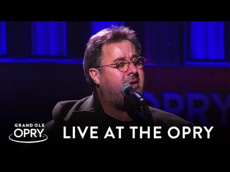 Vince Gill announces two shows for his Grand Ole Opry anniversary