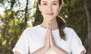 Yoga With Adriene tickets at Shrine Expo Hall in Los Angeles