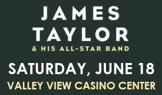 An Evening With James Taylor tickets at Valley View Casino Center in San Diego