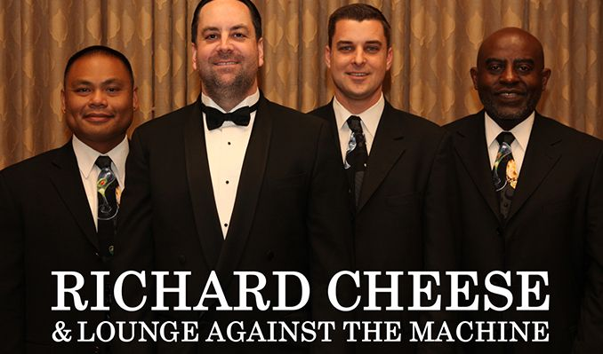 An Evening with Richard Cheese & Lounge Against the Machine tickets at The Showbox in Seattle