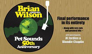 Brian Wilson presents Pet Sounds - Celebrating the 50th Anniversary tickets at Verizon Theatre at Grand Prairie in Grand Prairie