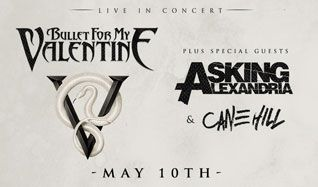 Bullet For My Valentine tickets at Starland Ballroom in Sayreville