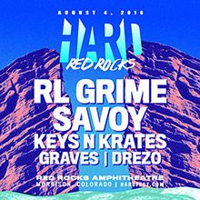 HARD Red Rocks tickets at Red Rocks Amphitheatre in Morrison
