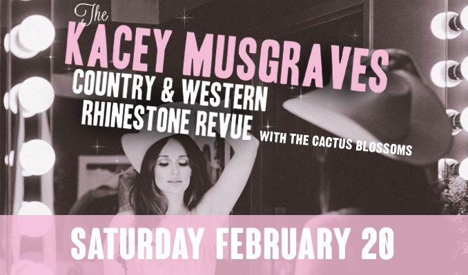 Kacey Musgraves tickets at Starland Ballroom in Sayreville