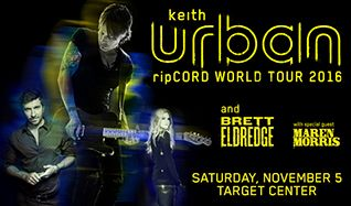 Keith Urban tickets at Target Center in Minneapolis