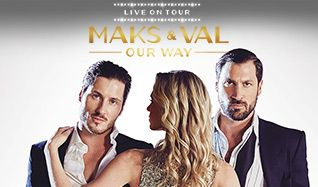 Maks & Val Live on Tour: Our Way tickets at Arvest Bank Theatre at The Midland in Kansas City