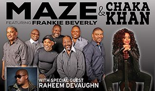 Maze featuring Frankie Beverly & Chaka Khan tickets at Verizon Theatre at Grand Prairie in Grand Prairie
