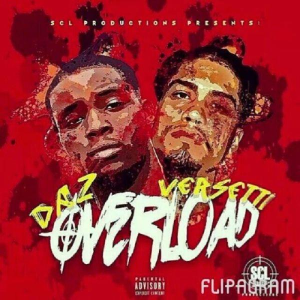 "DAZ and Versetti ""Overloaded"" EP cover"