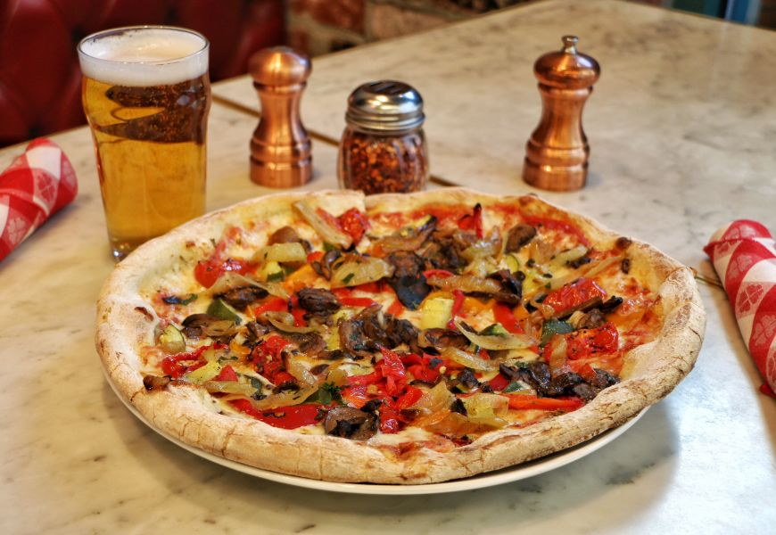 In honor of National Pizza Day, Flour & Barley pizzeria has created special pizzas