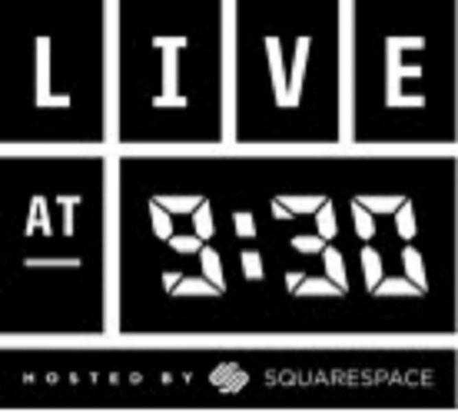 Live at 9:30 logo