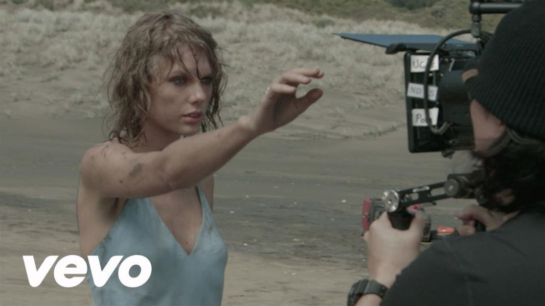 Taylor Swift takes fans inside the 'Out of the Woods' music video