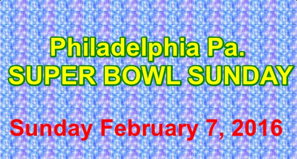 If you don't go to Philly on Super Bowl Sunday, you'll regret not attending some of the events.