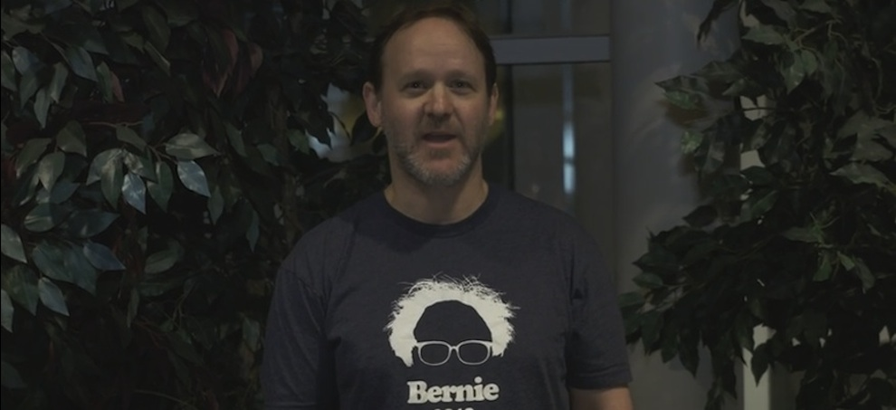 Watch: Why Phish drummer Jon Fishman is feeling the Bern