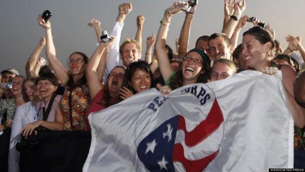 Celebrity former Peace Corps volunteers