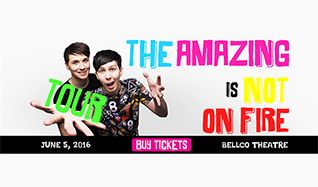 The Amazing Tour Is Not On Fire tickets at Bellco Theatre in Denver