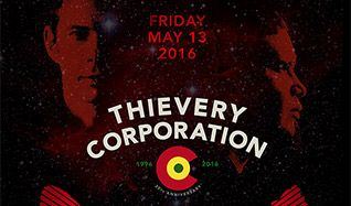 Thievery Corporation tickets at Red Rocks Amphitheatre in Morrison