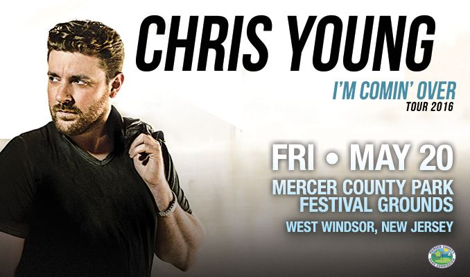 Chris Young tickets at Mercer County Park Festival Grounds in West Windsor Township