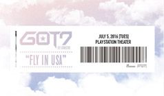 GOT7 tickets at PlayStation Theater in New York